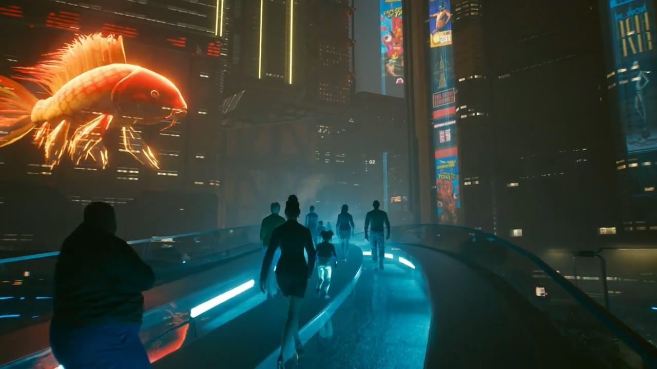 《赛博朋克2077》天气MOD:雨、毒雾、阴天、污染