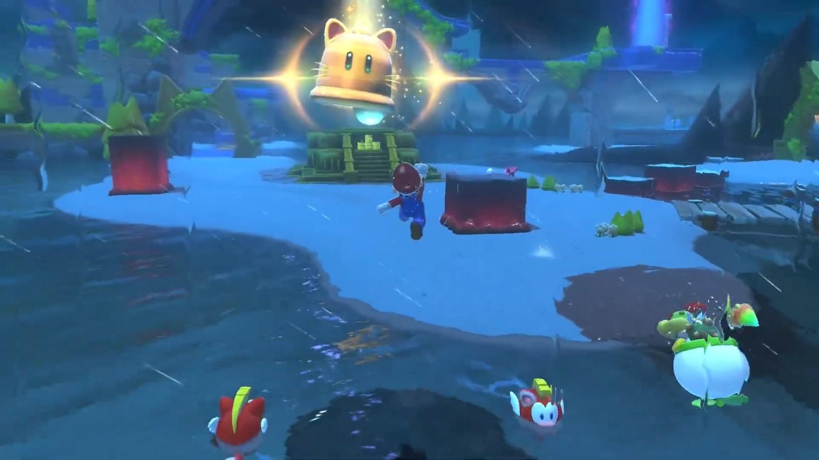 《超级马力欧3D世界+狂怒世界》全新预告 2月12日发售